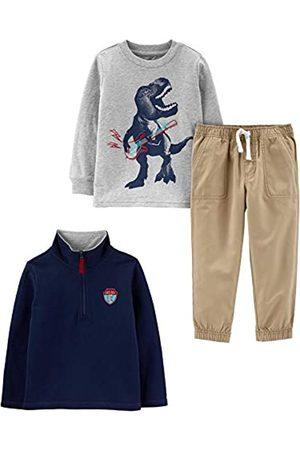 Simple Joys by Carter's Simple Joys by Carter's 3-piece Jacket, Long-sleeve Shirt, and Pant Playwear Set Hosen-Set 5 Years