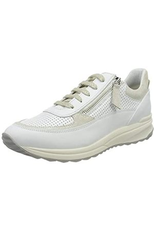 Geox Geox Damen D AIRELL A Sneaker, White/Off White