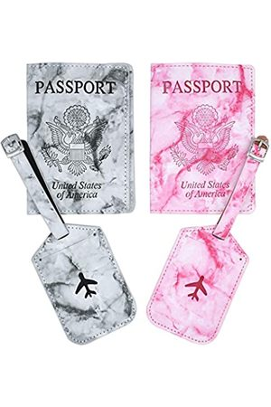 Snogisa Snogisa Passport Holder Cover Wallet,Matching Passport Covers for Couples, Traveling Passport Case