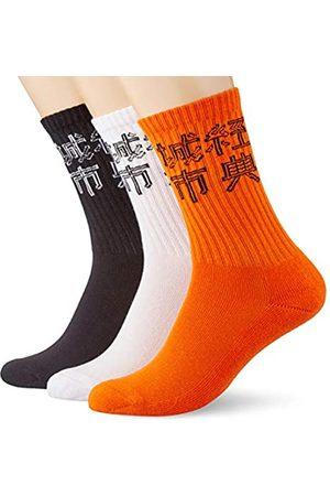 Urban classics Unisex Chinese Logo 3-Pack Socken
