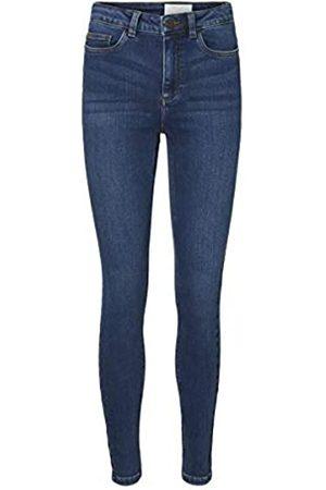 Noisy May Damen Skinny - Damen Nmcallie Chic Hw Jeans Vi072db Bg Noos Hose