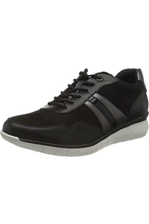 Tamaris Damen 1-1-23762-26 Sneaker, Sneaker, black/pewter