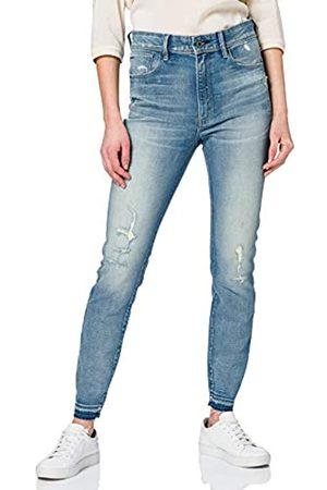 G-Star Womens Kafey Ultra High Waist Skinny Ripped Ankle Jeans