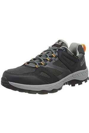Jack Wolfskin Damen Downhill Texapore Low Walking-Schuh, Dark Blue/Grey