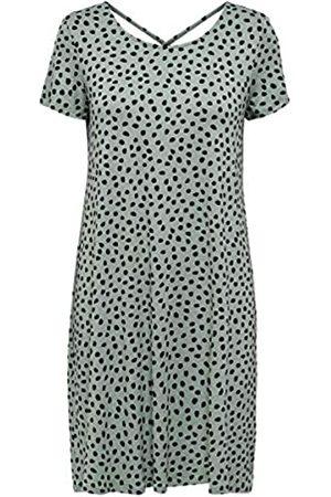ONLY Damen Freizeitkleider - Female Kleid mit kurzen Ärmeln Lässiges XLChinois Green
