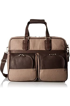 Piel Piel Leather Carry-on with Pockets