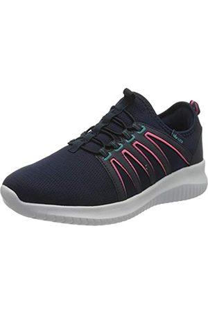 LICO Merana Damen Sneaker, Marine/ Pink/ Türkis
