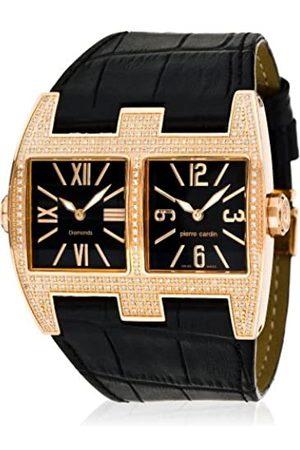 Pierre Cardin Pierre Cardin Damen-Armbanduhr 'Diamonds Collection' Vis-à-vis Homme PC100081D02