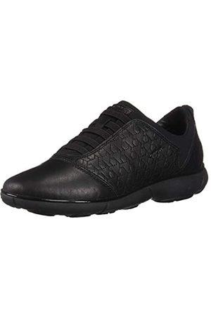Geox Geox Damen D Nebula C Sneaker, Schwarz (Black C9999)
