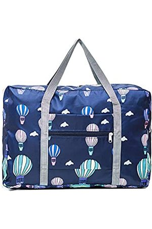 Unova Unova Travel Duffel Bag Packable Light Nylon Water Resistant Gym Tote Weekend Overnight Carry-on Shoulder Shopping(Air Balloon)
