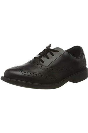 Clarks Jungen Scala Brogue K Uniform-Schuh (Black Leather)