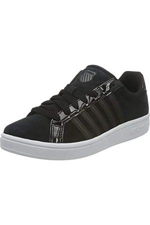 K-Swiss Damen Court TIEBREAK SDE Sneaker, Black/Black/White