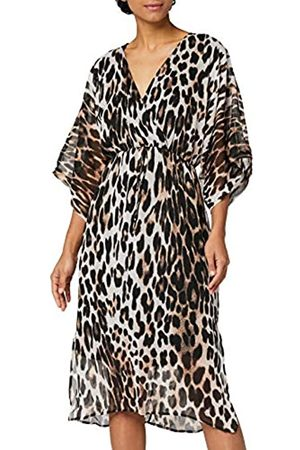 TRUTH & FABLE Amazon-Marke: Damen Kleid mit Kimono-Ärmeln, 32