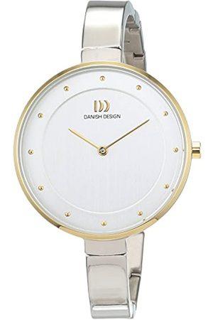 Danish Design Danish Design Damen Analog Quarz Uhr mit Titan Armband 3326613