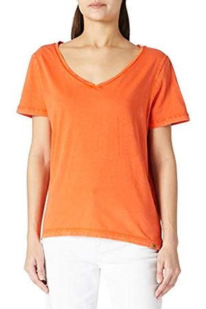 Camel Active Damen 3096295T58 T-Shirt, Verbrannte