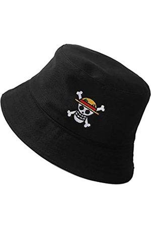 UMiCHOi One Piece Bucket Hat Summer Anime Cap Travel Beach Sun Hat - - Einheitsgröße