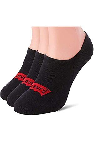 Levi's Herren Socken & Strümpfe - Unisex-Adult High Rise Batwing Logo (3 Pack) Socks
