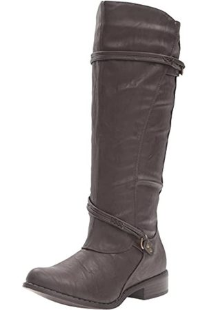 Brinley Co Women's Olive Riding Boot, Brown