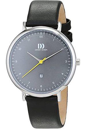 Danish Design Damen Analog Quarz Uhr mit Leder Armband 3324605