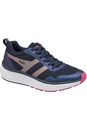 Gola Damen Typhoon Road Running Shoe, Navy/Grey/Raspberry