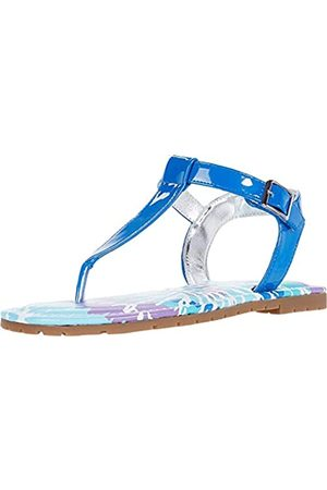 NINA NINA Girls Hook Loop Closure Sandal
