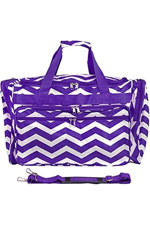 World Traveler World Traveler Chevron, Purple White Ch
