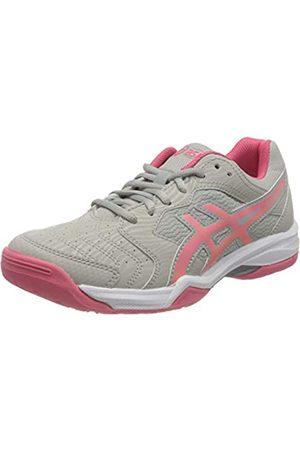 Asics ASICS Damen Gel-Dedicate 6 Tennis Shoe, Oyster Grey/Pink Cameo