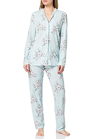 Schiesser Damen Pyjama lang Pyjamaset
