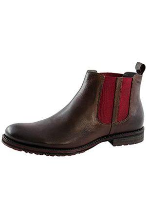 Marc MARC Business Leder Ferris Schuhe Herren Boots Business Schuhe (Braun