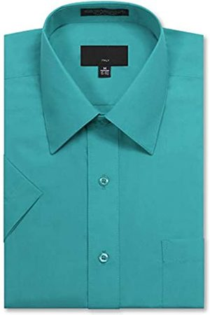 Allsense Herren T-Shirts - Herren-Kurzarm-Hemd, normale Passform