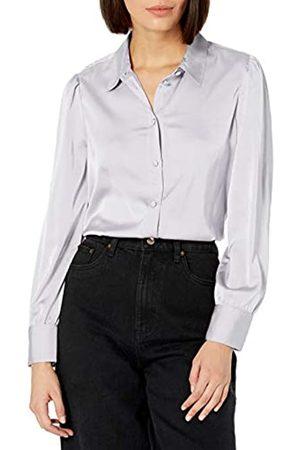 THE DROP Damen @lucyswhims Hemd zum Knöpfen mit langen Ärmeln