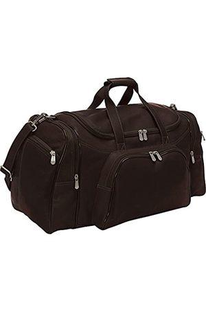 Piel Piel Leather Klassische Sporttasche (Braun) - 7925-CHC