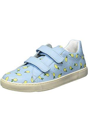 Naturino Naturino Jungen HASSELT VL Sneaker, Light Blue-Yellow