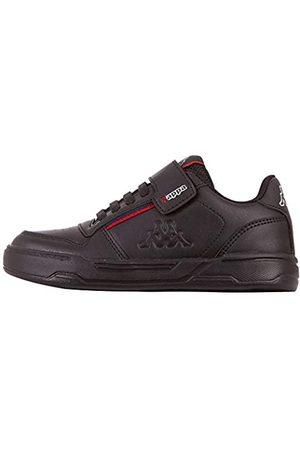 Kappa Kappa Unisex Kinder MARABU II Kids Sneaker, 1120 Black/red