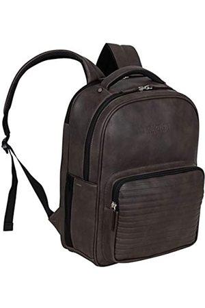 Kenneth Cole Kenneth Cole On Track Pack Veganes Leder 15,6 Zoll Laptop & Tablet Bookbag Anti-Diebstahl RFID Rucksack für Schule