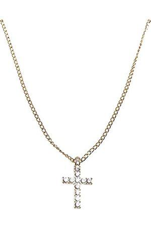 Urban classics Unisex Diamond Cross Necklace Manschettenknöpfe
