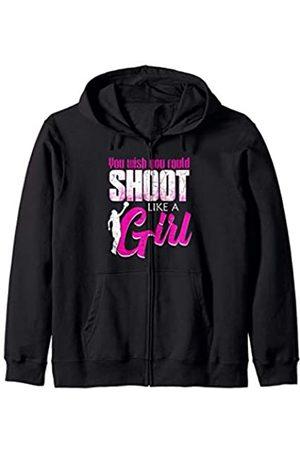 Lustiges Basketball Mädchen Geschenk Schulsport Basketballspieler Basketball Mädchen Kapuzenjacke