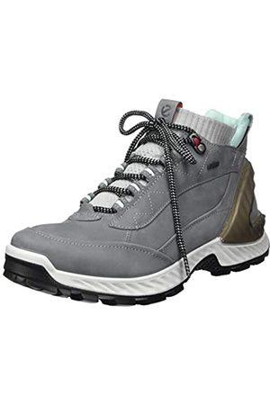 Ecco Damen EXOHIKEW Hohe Sneaker, (Titanium/Concrete 54302)