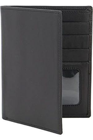 myBitti MyBitti Passport Wallet Executive Boarding Pass Holder Black