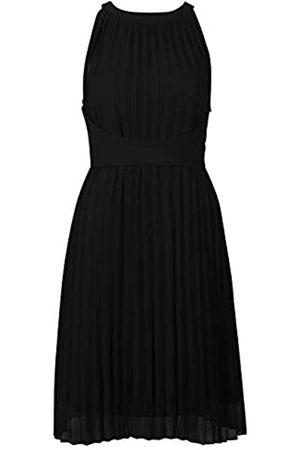 Apart APART, Zauberhaftes Damen Kleid, Sommerkkleid, aus leicht körnigem, plissiertem Chiffon, mit amerikanischem Ausschnitt