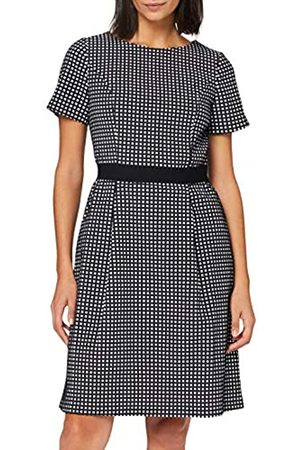 Apart Damen Jacquard Dress Kleid