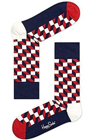 Happy Socks Damen Filled Optic Sock Socken