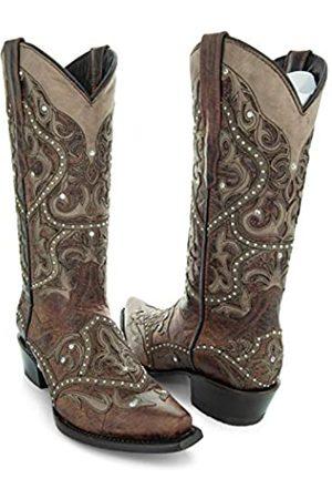 Soto Boots Soto Boots Damen Lola Fashion Cowboystiefel M50047 (braun)