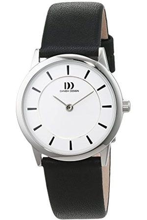 Danish Design Danish Design Damen Analog Quarz Uhr mit Leder Armband 3324588