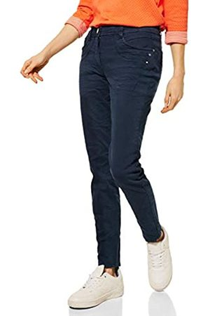 CECIL Cecil Damen Casual Fit Denim deep Blue 28