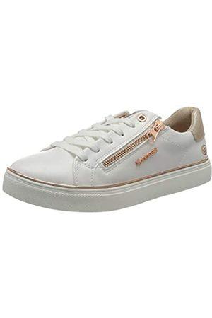 Dockers Damen 44MA205-610593 Sneaker, Weiss/Rose