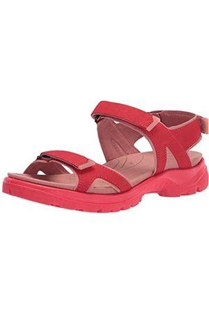 Ecco ECCO Damen Offroad Flat Sandal, Rot(Hibiscus)