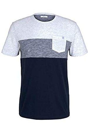 TOM TAILOR TOM TAILOR Herren 1021256 Pocket T-Shirt, 11077-Blanc De Blanc White