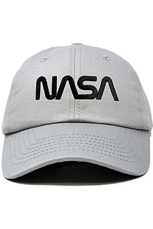 DALIX Herren Caps - NASA Mütze Baseball Cap Washed Cotton Embroidered Logo Pigment Dyed - - Einheitsgröße
