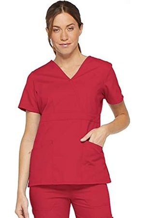 Dickies Damen Oberbekleidung - Damen EDS Signature Scrubs Missy Fit Mock Wrap Top - - XX-Large Mehr